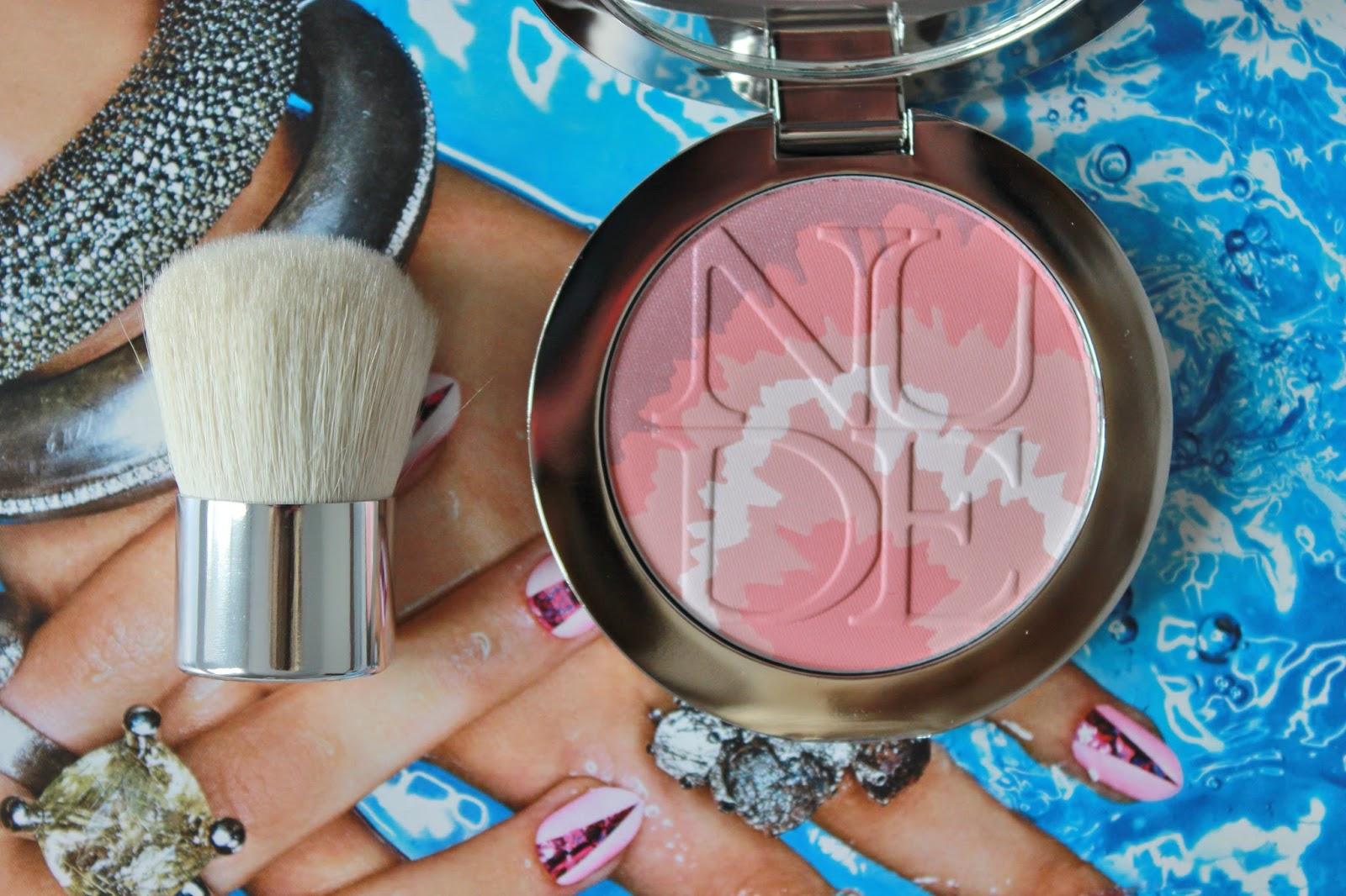 Dior Nude Tan Tie die blusher 001 pink sunrise