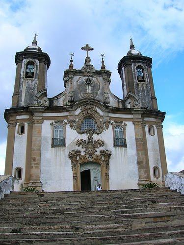 Igreja em Ouro Preto MG