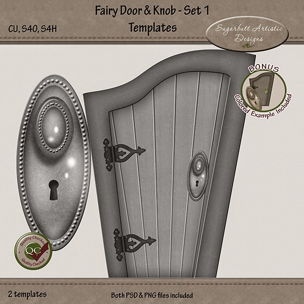 Sugarbutt artistic designs new fairyland house hardware for Fairy door handles