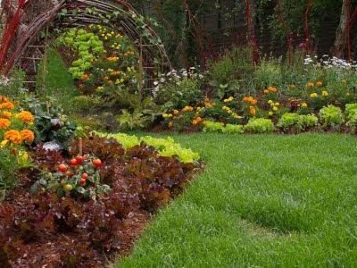 jardinería efímera