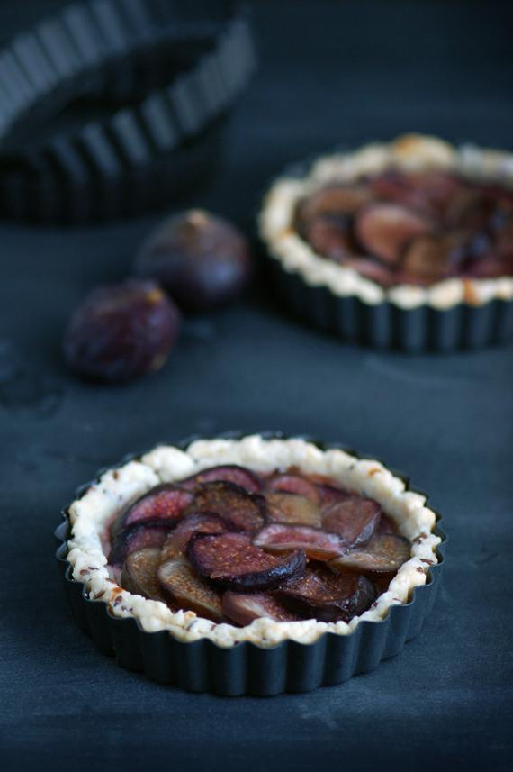 Madame gateau tartelettes aux figues - Cuisiner figues fraiches ...