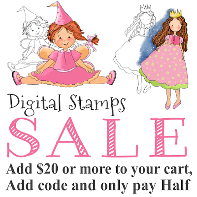 Digital Stamps Sale
