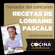 Ganadora del concurso de Lorraine Pascale de Canal Cocina