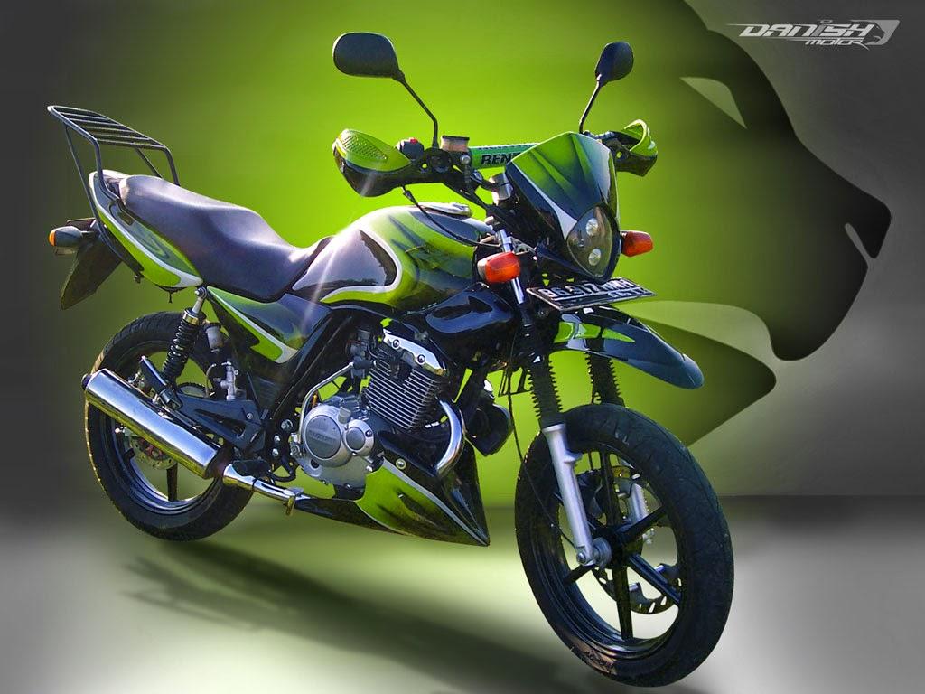 Foto Modifikasi Motor Suzuki Thunder