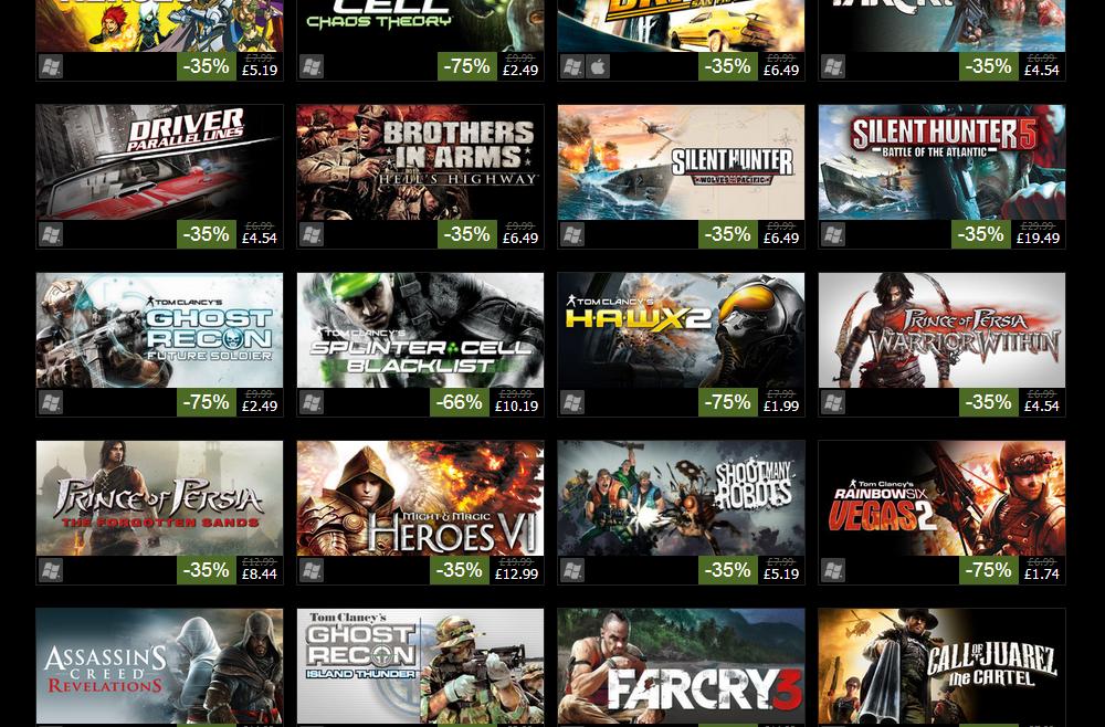 Steam games 2014