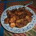 Ayam masak sos tiram.. U all harus try..!!