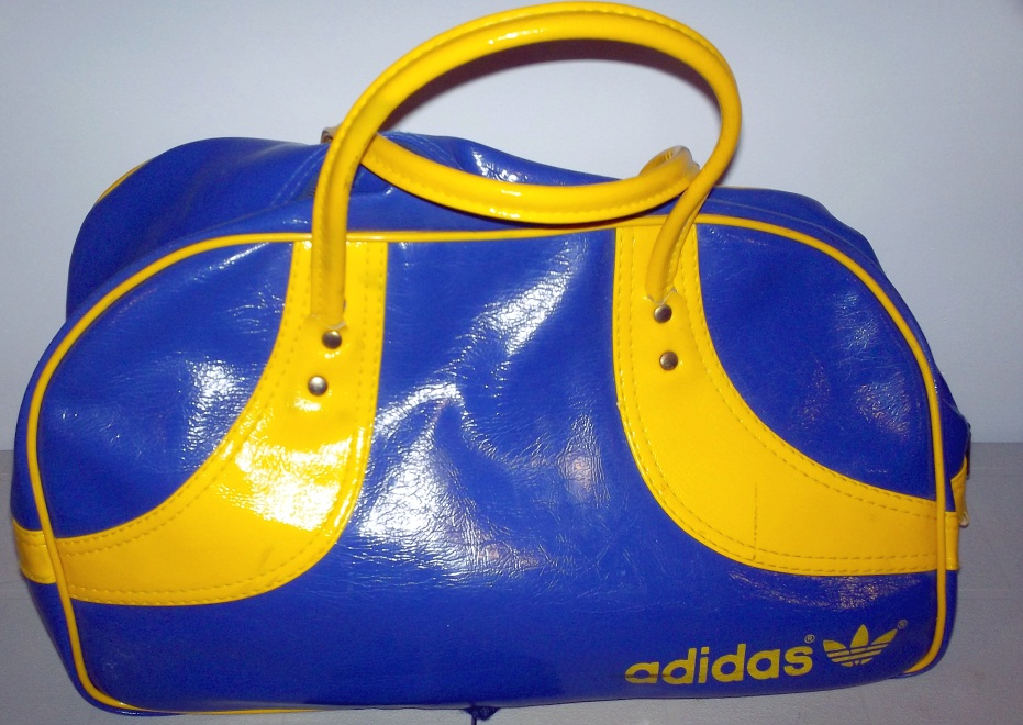 ec6a1442adf9 Yellow   Purple Gym Bag - (Salvation Army)  10. Ebay  50 -  150