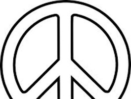 Peace Sign Coloring Pages You Can Print