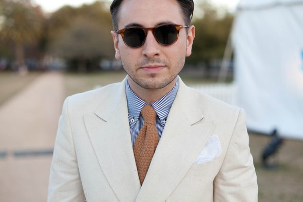 Mike Grady mens fashion southern style charleston sc CHS  charleston street style southern street style tortus shell glasses tan suit the style preneur
