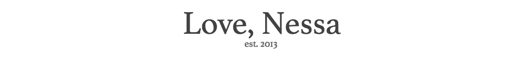 Love, Nessa