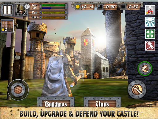 Heroes and Castles MOD APK+DATA Android