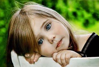 Os olhos de uma criança não mentem!