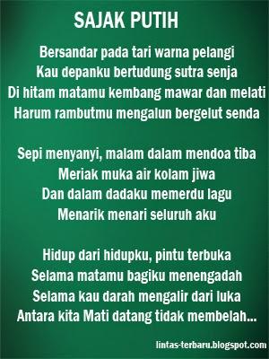 Kumpulan Puisi Chairil Anwar Lengkap Terbaik | Caption ...