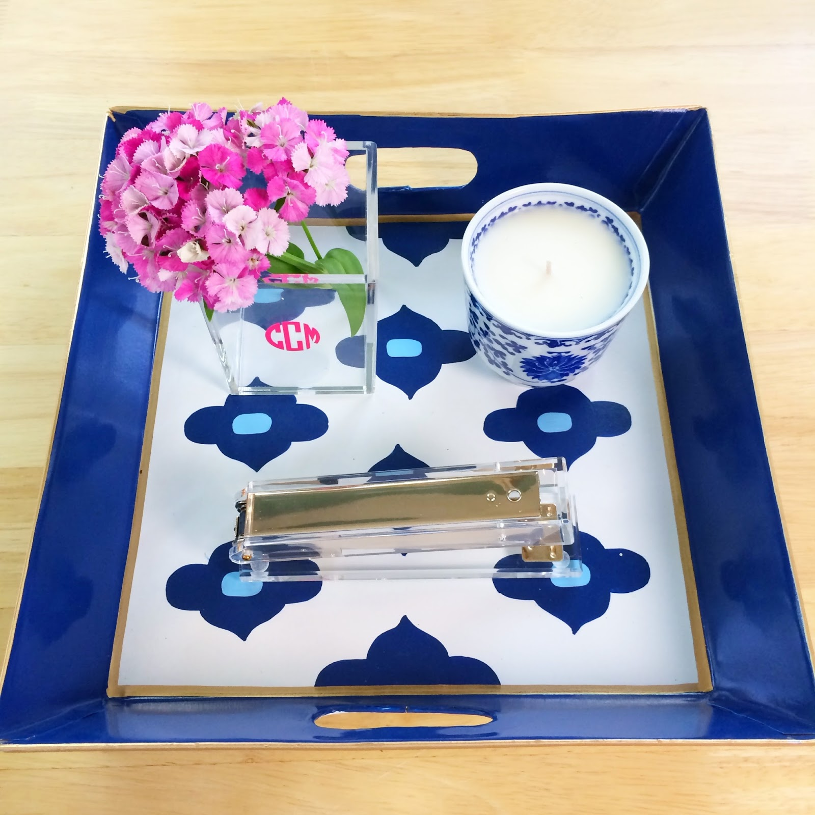 The most perfect desk decor you've ever seen! All from Design Darling
