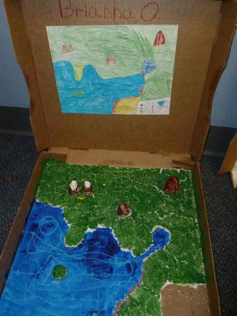 Mrs. Parks - Third Grade: Landform Projects