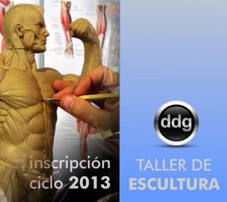 Taller de esculturas 2013