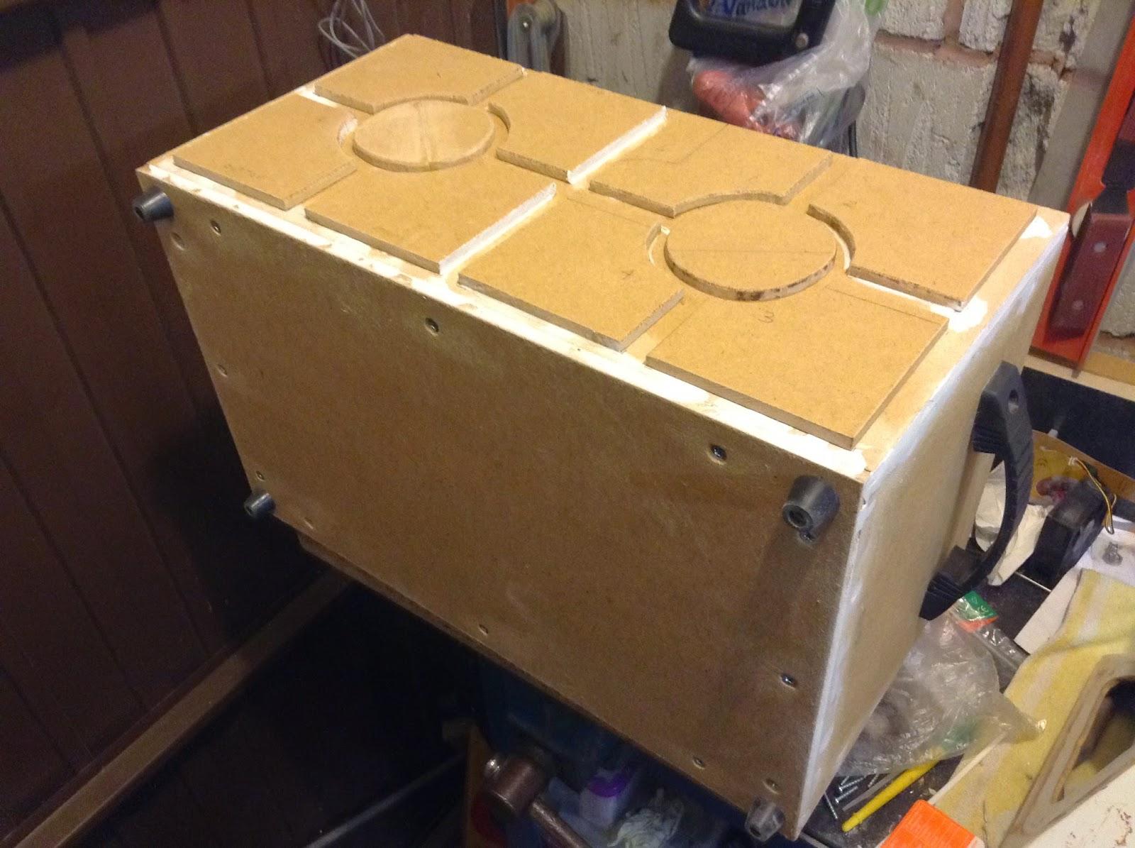 Scanning crew container prop