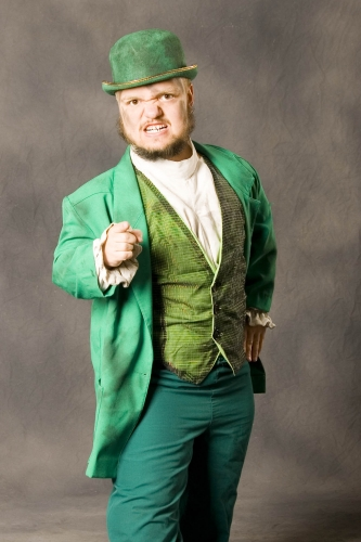 Sports star: WWE Hornswoggle Profile And Photos Hornswoggle