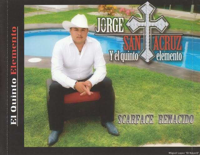 Jorge Santa Cruz - Scarface Renacido Disco - Album 2010