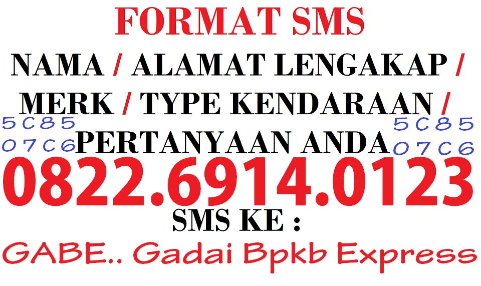 FORMAT SMS