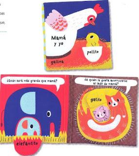 libros infantiles; libros de tela; combel; mamá y yo