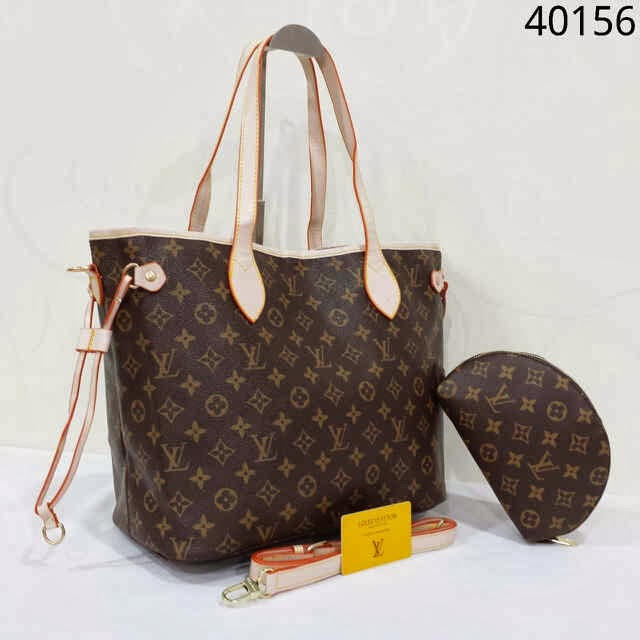 LV Neverfull Set Murah