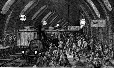 Victorian London Underground