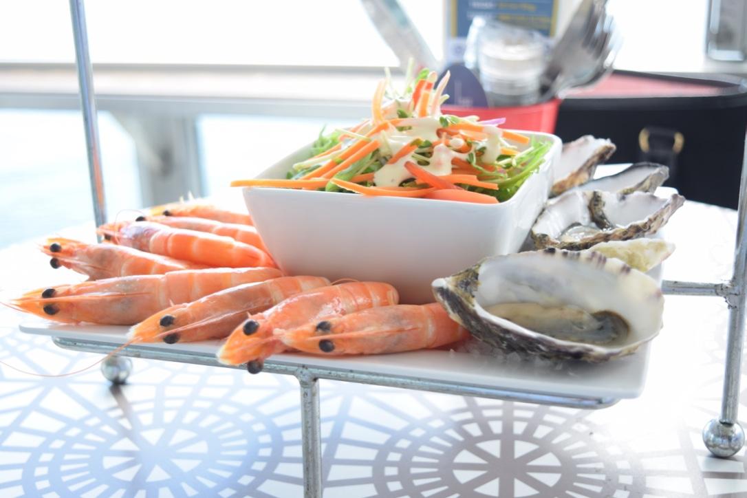 Helm Bar Oysters Prawns