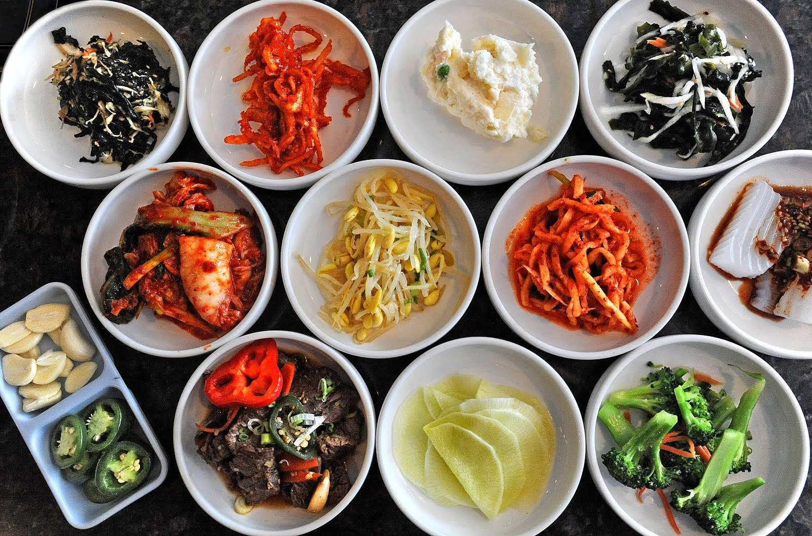 KOREAN 'BANCHAN'