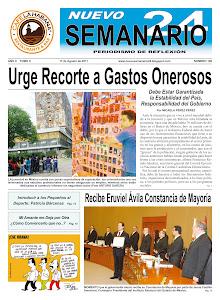 NUEVO SEMANARIO 24, NÚMERO 108