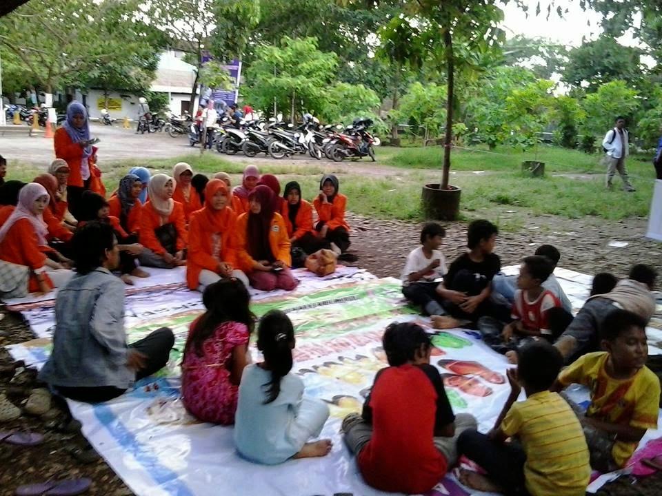 Aksi Sosial Memberi Bimbingan Kepada Anak Jalanan