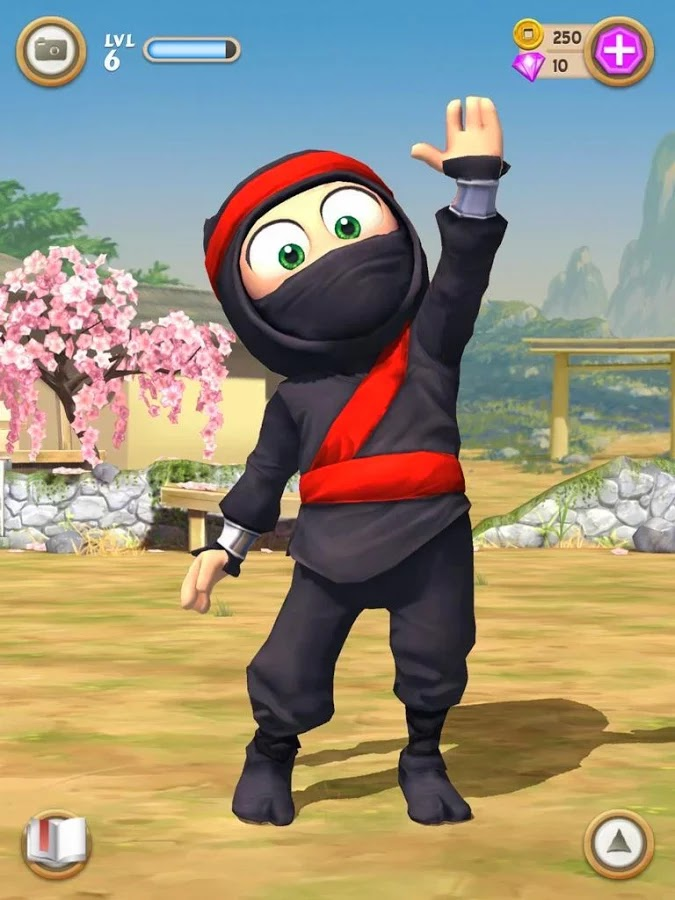 Clumsy Ninja v1.6.4 Mod [Unlimited Coins & Gems]