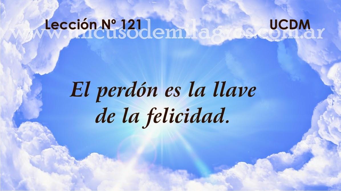 Leccion 121, Un Curso de Milagros