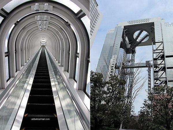 dengan ketinggian 49 tingkat bergambar kenangan indah dari tingkat atas bersama adibah karimah