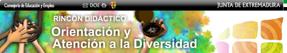 Rincón didáctico de orientación y atención a la diversidad