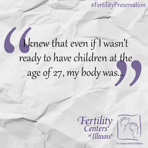 Fertility Preservation and Freezing Eggs Quote