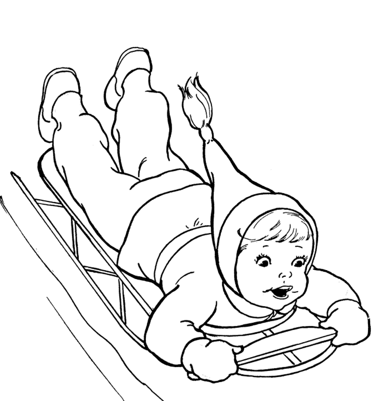 Sports Photograph Coloring Pages Kids Winter Sports Coloring