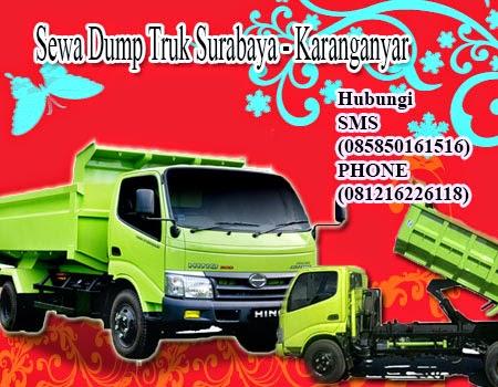 Sewa Dump Truk Surabaya - Karanganyar