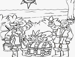 Shape Train Coloring Page