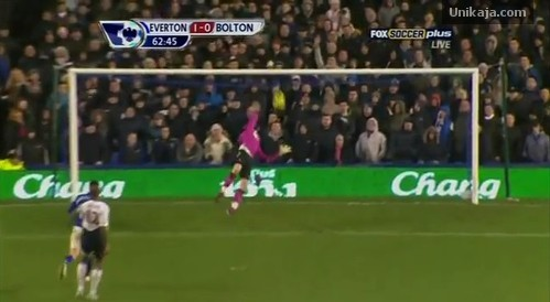 Gol Spektakuler Tim Howard ke Gawang Bolton Wanderers