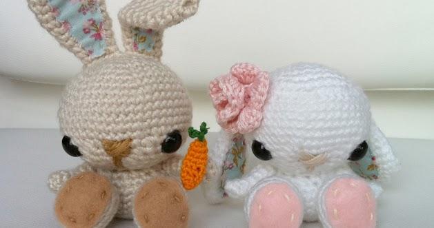 Amigurumi Spring Bunny : 2000 Free Amigurumi Patterns: Free Pattern for Crochet ...