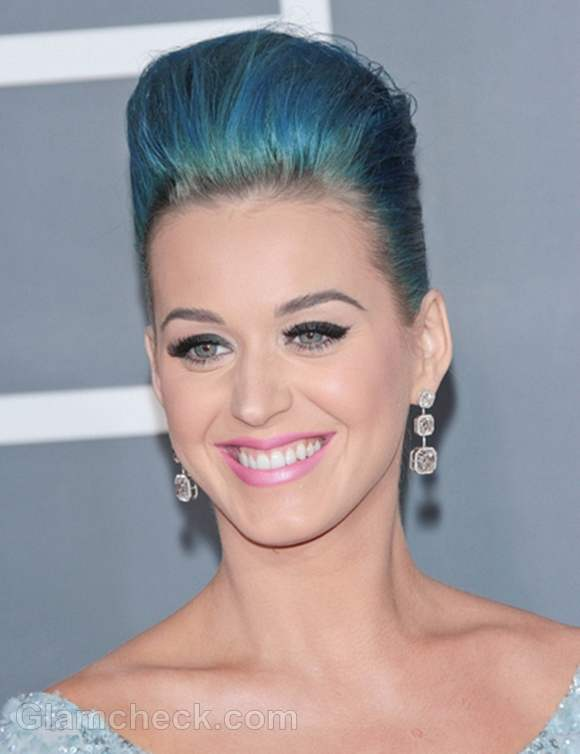 Katy perry blue dress grammy