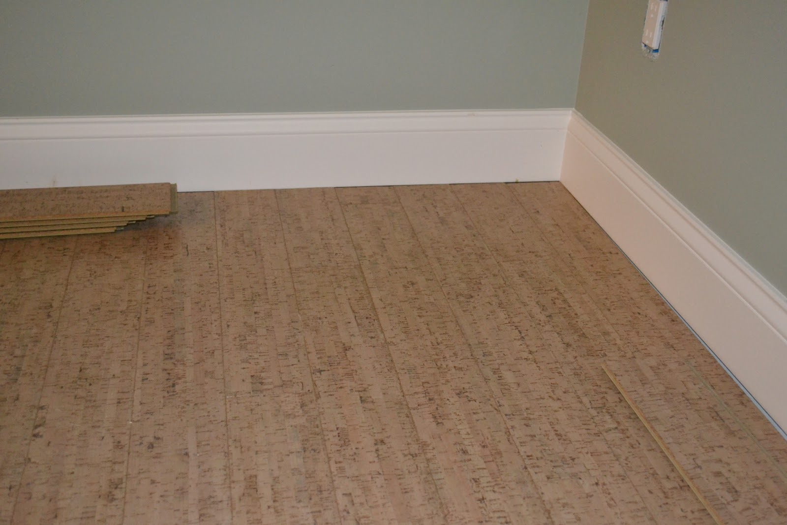 De jong dream house our cork floors for Cork floor tiles