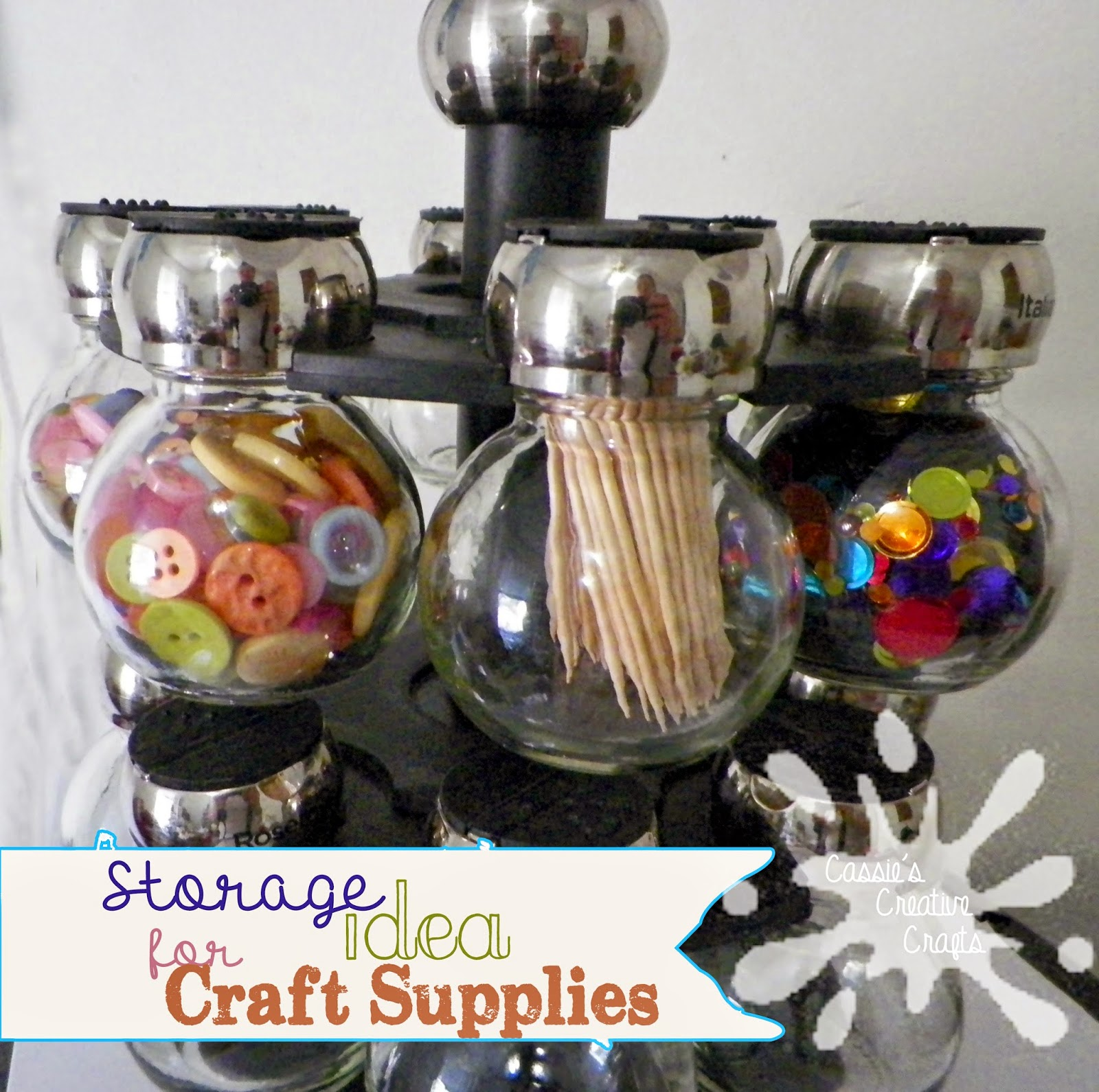 Storage ideas copyright Cassie's Creative Crafts