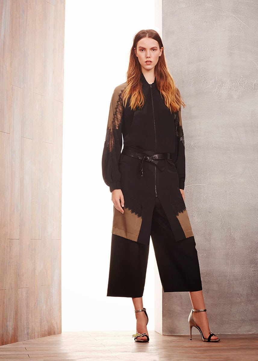 Modest BCBG Max Azria pre-fall 2015 dress | Mode-sty #nolayering tznius tzniut jewish orthodox muslim islamic pentecostal mormon lds evangelical christian apostolic mission clothes Jerusalem trip hijab fashion modest muslimah hijabista