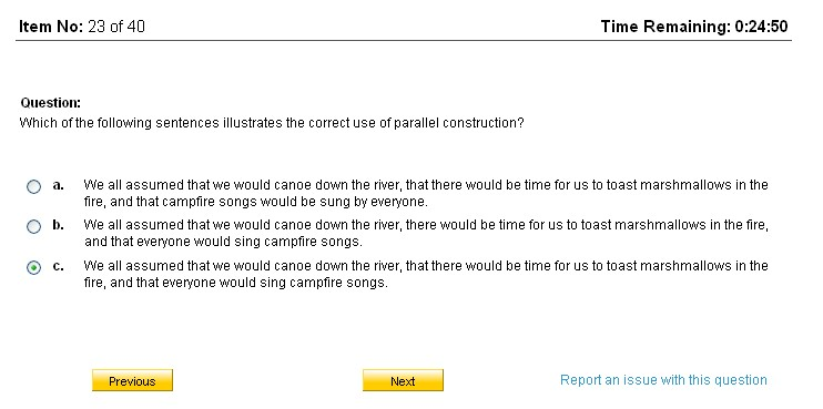 creative writing test odesk answers