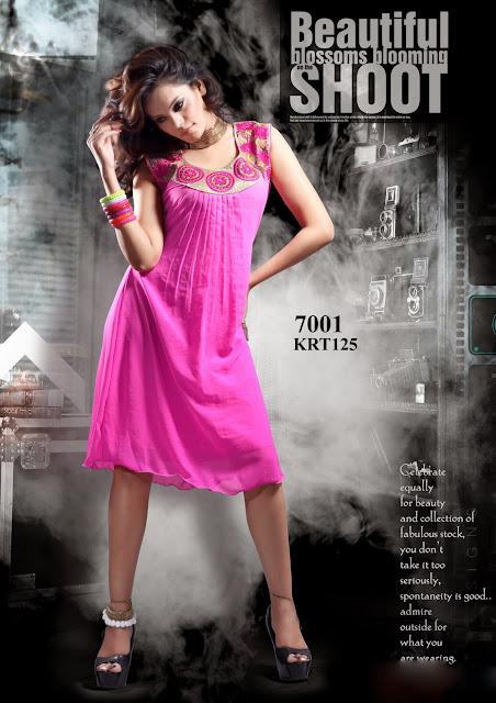 Latest Girls Fashionable Kurti – Wholesale Supplier
