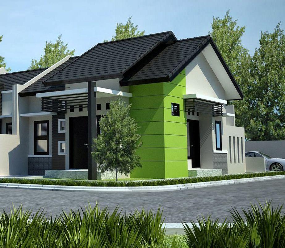fasad rumah sederhana tampak depan