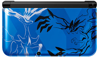 3DS XL Xerneas Yveltal Blue