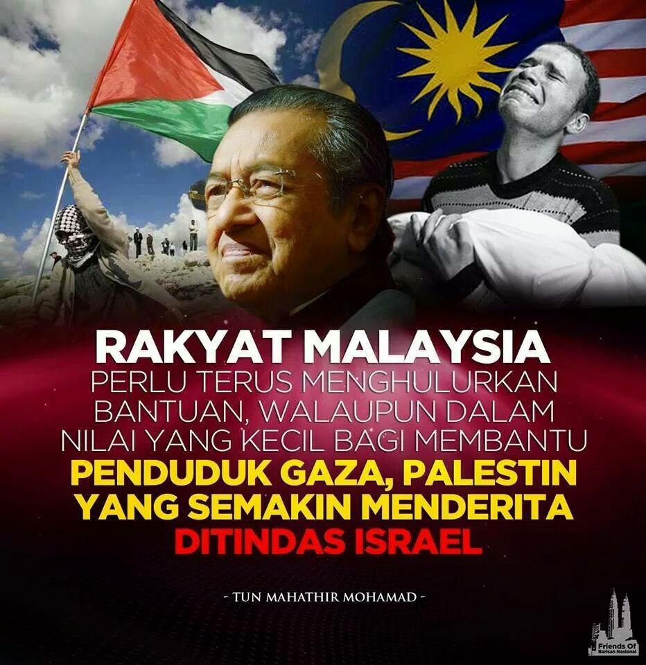 Mahathir perjuang Palestin tapi Anwar diamkan kekejaman Israel Siapa Mahazalim